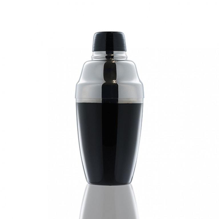YUKIWA Cocktail Shaker black - Japanese Lacquer edition [036B,037B]
