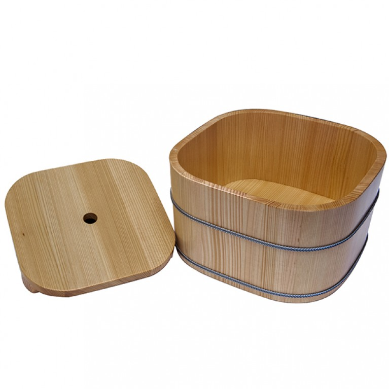 Wooden Ice Tub Square Type Small [482]